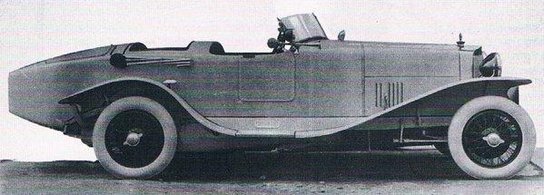 SPA 23S carrosée par Bertone