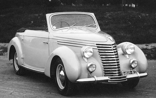 Fiat 1100 Cabriolet Bertone