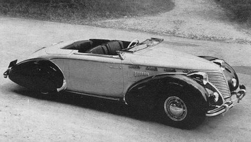 Fiat 1500 Cabriolet Bertone - 1937