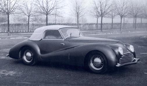 Fiat 2800 cabriolet Bertone - 1943