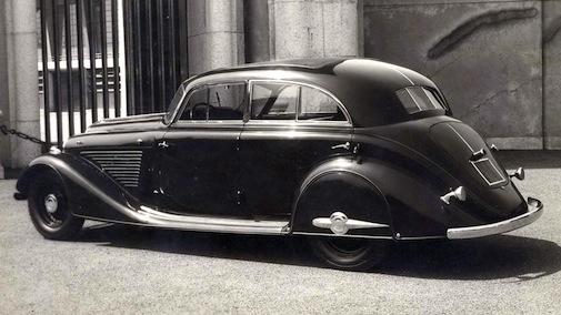 Fiat 527S Ardita 2500 - 1934