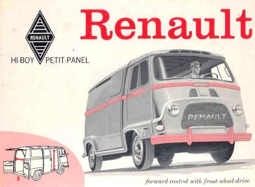Renault petit panel
