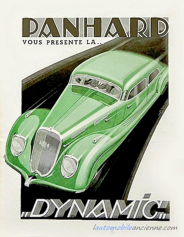 Panhard Dynamic  publicité 1937