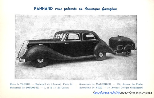 Panhard Dynamic  gazogène