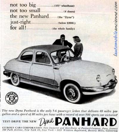 Panhard Dyna Z pub USA