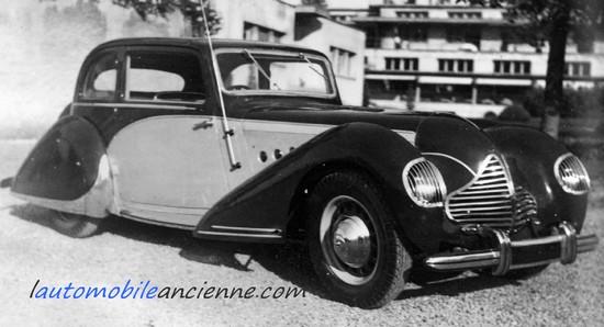 Talbot-Lago T120 baillon