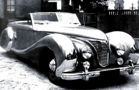 Talbot-Lago T26 Record Cabriolet par Saoutchik (2)
