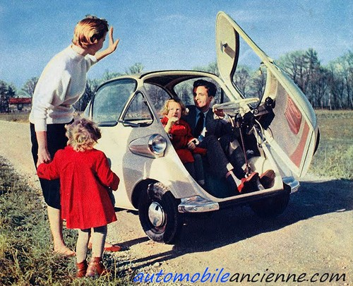 bmw isetta 1955 1962 l 39 automobile ancienne. Black Bedroom Furniture Sets. Home Design Ideas
