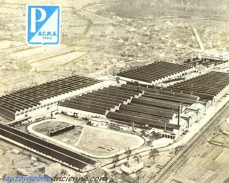 Acma-Vespa - usine Archambault