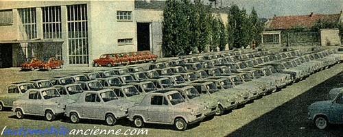 vespa 400 usine