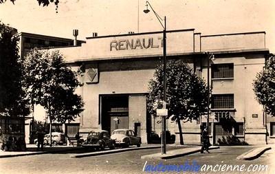 Renault - entrée place Jules Guesde
