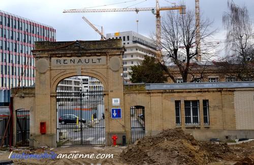 Renault Bâtiment X