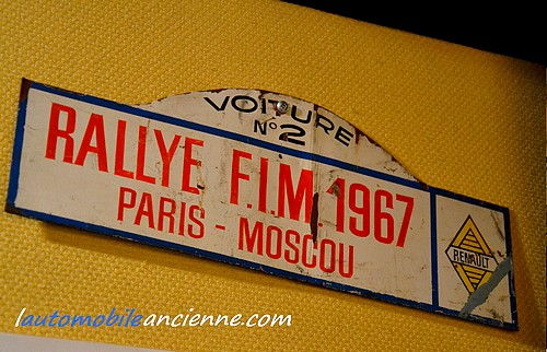 Rallye FIM 1967 Paris Moscou