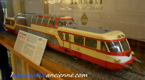 Maquette train Renault