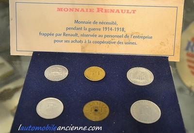 monnaie Renault