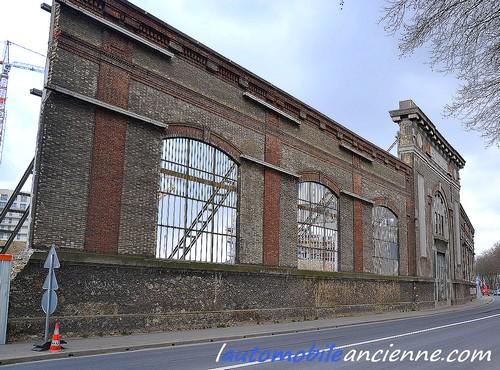 Renault usine mur de l'artillerie