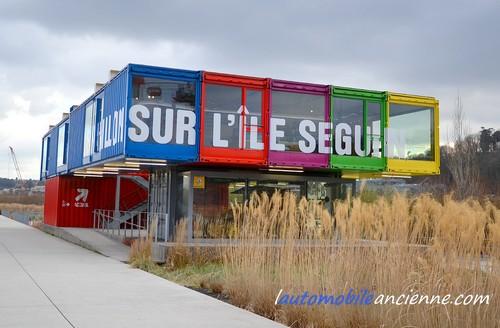 Ile Seguin pavillon Renault