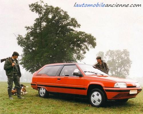 Citroën BX dyana (heuliez) 1.1