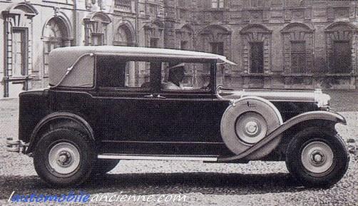 Fiat 525 landaulet Vatican