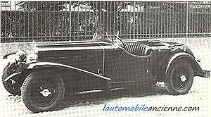 Fiat 525SS spider