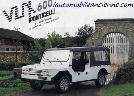 PONTICELLI VUX600 é