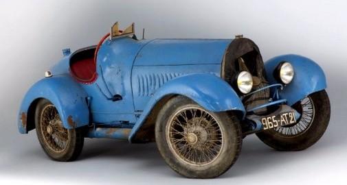 Bugatti Type 13 Brescia châssis 2628 (copyright Artcurial)