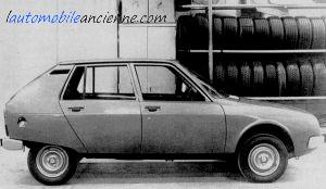 Citroën Projet TA