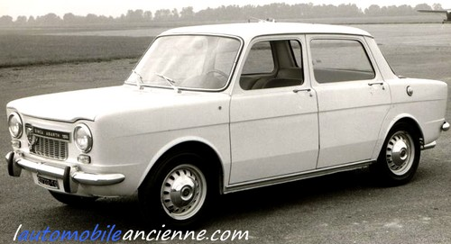 Simca 1000 Abarth L Automobile Ancienne