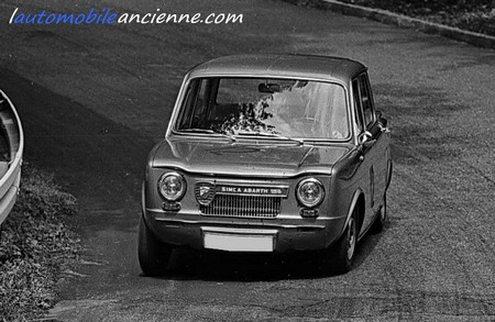 Simca-Abarth 1150S rally$