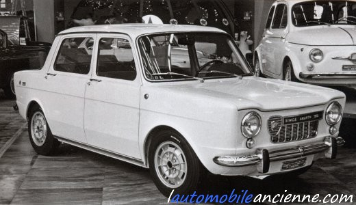 simca abarth 1150 1963 1966 l 39 automobile ancienne. Black Bedroom Furniture Sets. Home Design Ideas