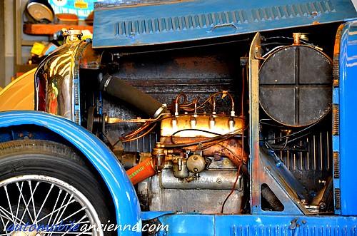 Amilcar CGS - moteur