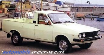 dacia 1300 pick up l 39 automobile ancienne. Black Bedroom Furniture Sets. Home Design Ideas