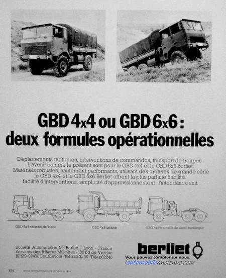GBD berliet