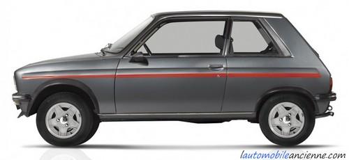 Peugeot 104 ZS2 (copyright Peugeot)