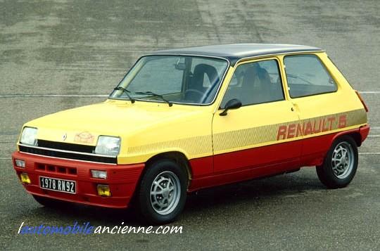 Renault 5 monte carlos (1978) 1