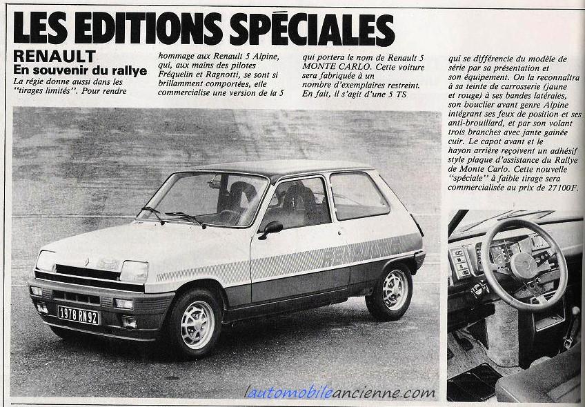 Renault 5 monte carlos (1978) 2