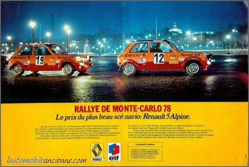 Renault 5 monte carlos rallye (1978) 1