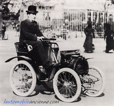 Renault type a 1898 1900 l 39 automobile ancienne - El taller de lo antiguo ...
