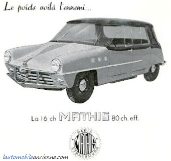 Mathis 666 - prototype 1948 (1)