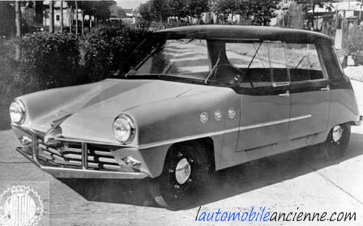 Mathis 666 - prototype 1948