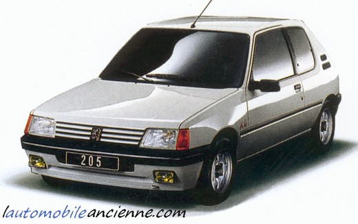 Peugeot 205 XS (1)