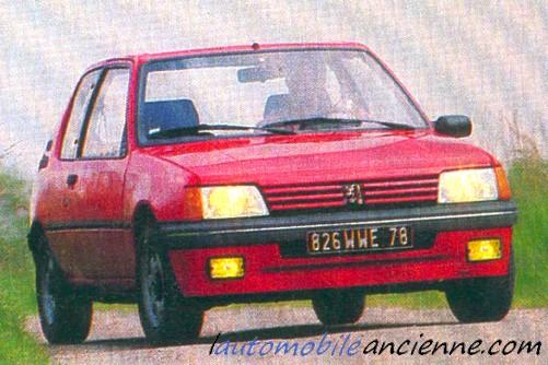 Peugeot 205 XS (3)