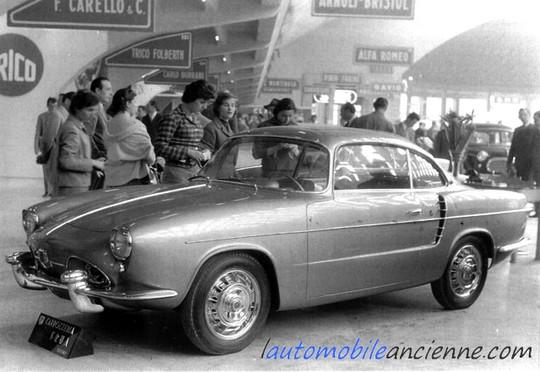 Renault dauphine sport frua (2)