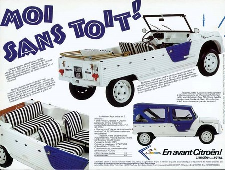 Citroën Méhari Azur (pub 02)