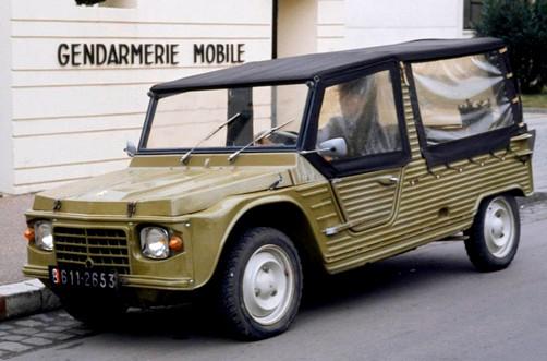Citroën Méhari gendarmerie (1)