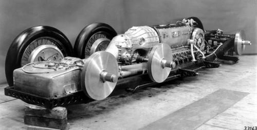 Mercedes T80 - châssis (1)