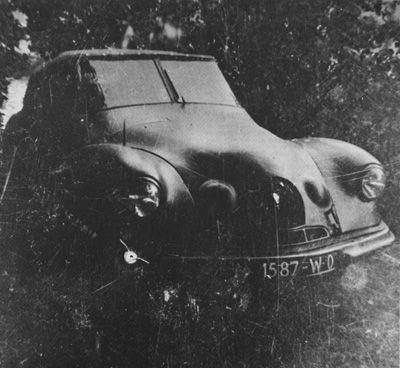 Citroën DS (projet VGD) 1951