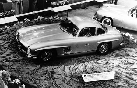 Mercedes 300SL NY 1954