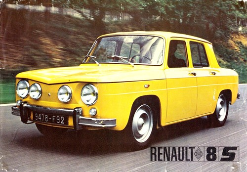 renault 8 s 1968 1971 l 39 automobile ancienne. Black Bedroom Furniture Sets. Home Design Ideas