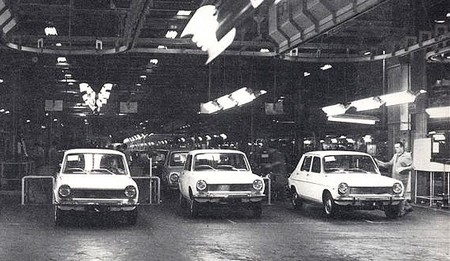 Simca 1100 (production)